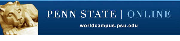 Penn State World Capus home page